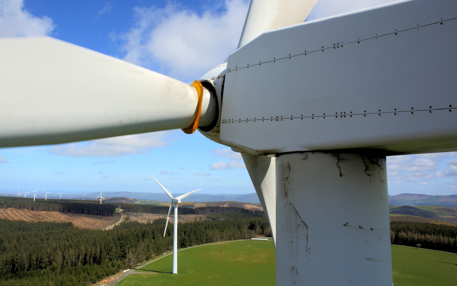 Aerial Turbine Inspections