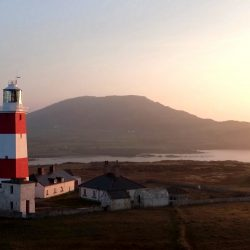 Bardsea lighthouse close up captured before the sun set by a Longstaff Media Drone
