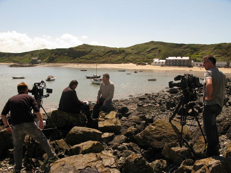 Longstaff Media Filming At Ty-Coch In North Wales For S4C